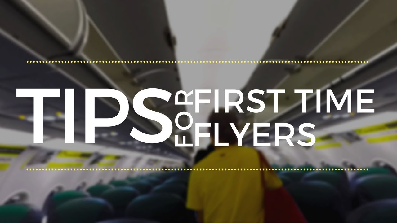 5 airport tips for first time flyers