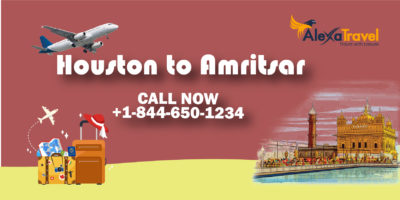 houston to amritsar flight deals