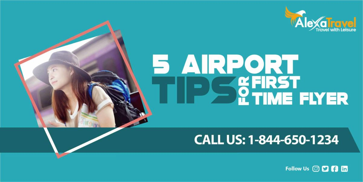 5 Airport Tips For a First-Timer Flyer
