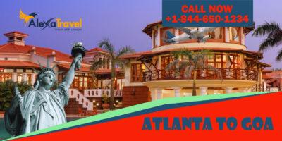 atlanta to goa flight tickets