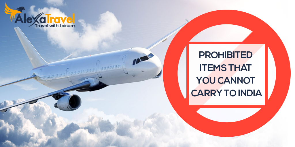 Here's The List of Prohibited Items That You Cannot Carry To India