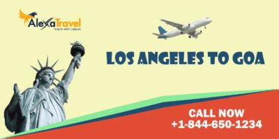 los angleles to goa flight tickets