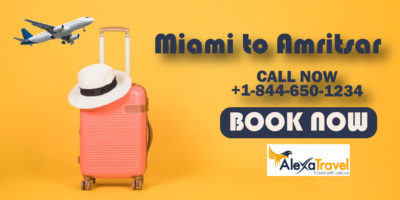 miami to amritsar flight deals