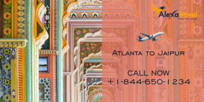 atlanta to jaipur flight deals