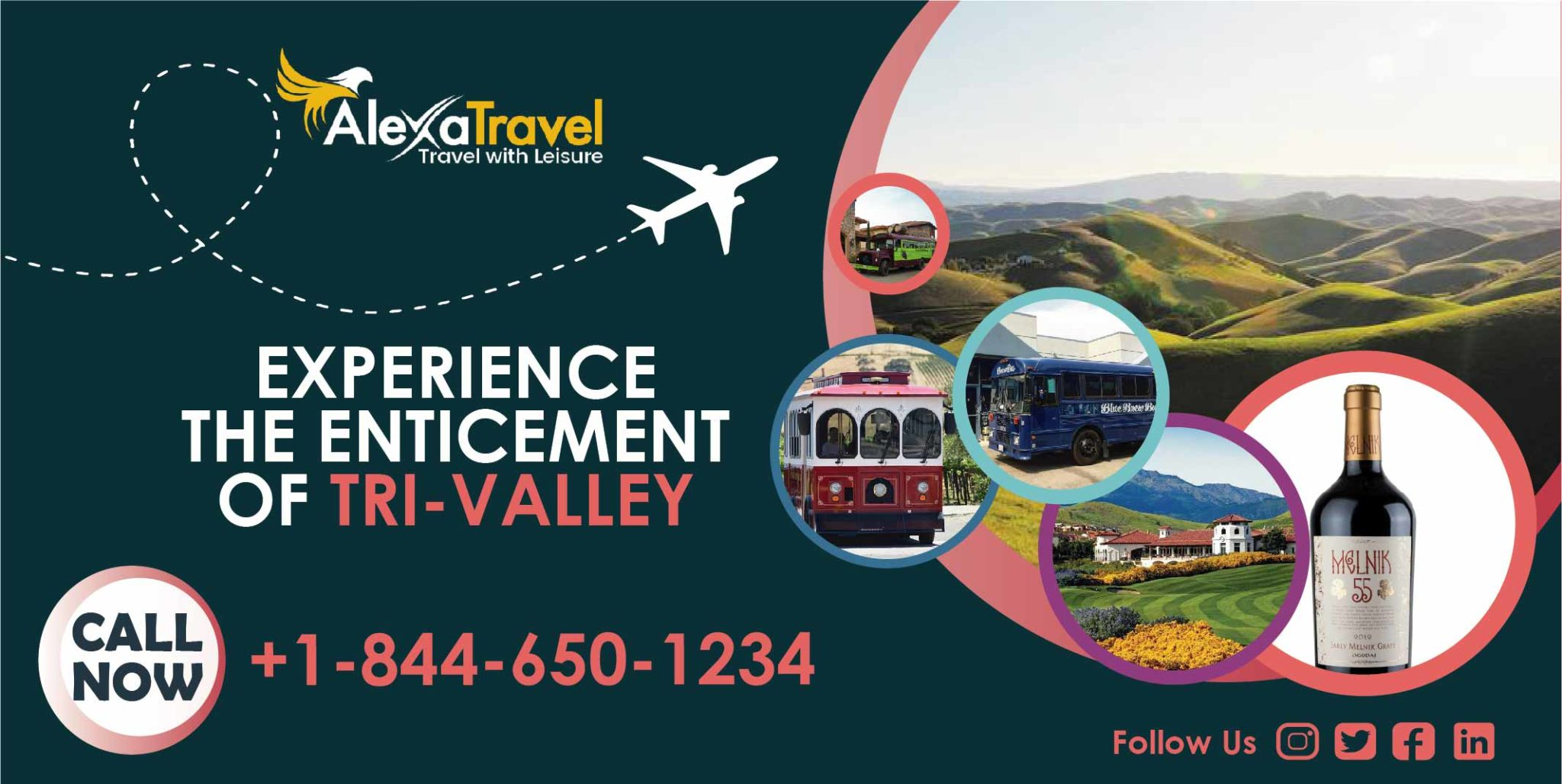 Experience the enticement of Tri-Valley