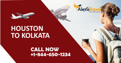 houston to kolkata cheap flight tickets