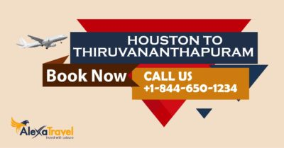 houston to trivandrum flight deals