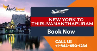 newyork to trivandrum flight deals