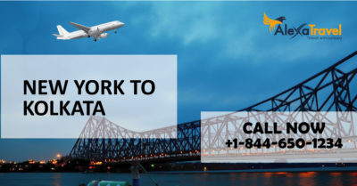 newyork to kolkata flight deals