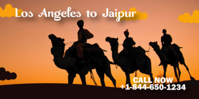 cheap flight ticket from los angelse to jaipur