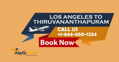 los angeles to trivandrum flights