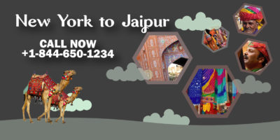 newyork to jaipur flight deals