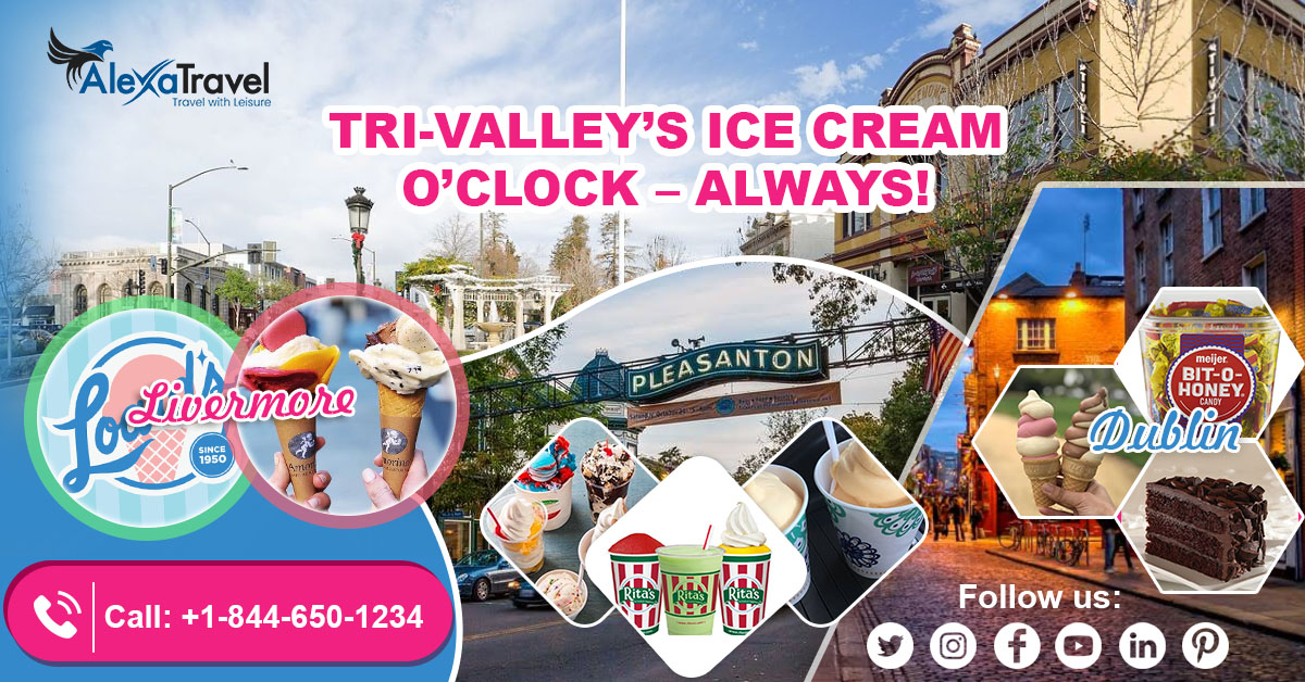 TRI-VALLEY'S ICE CREAM O'CLOCK – ALWAYS!